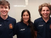 Guille, Lucía y Mario repetirán en un Mundial